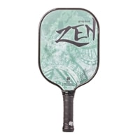 The Zen Graphite Paddle displays the Chinese symbol for power in eight appealing colors, premium ultra-cushion grip
