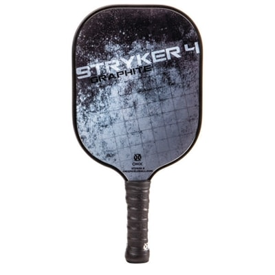 Stryker 4 Graphite Pickleball Paddle, poly-core and graphite face.