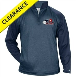 Ace Fleece with USAPA printed logo for Men. Sizes S-3XL. Navy