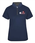 USAPA 1/4 Zip Short Sleeve- Women's