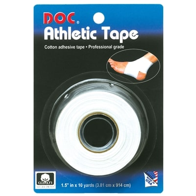 Wrap ankles, fingers, and wrists with this tape from Unique Sports