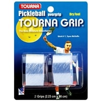 Tourna Pickleball Grip - pack includes two blue overgrips (2.23 cm x 98 cm)
