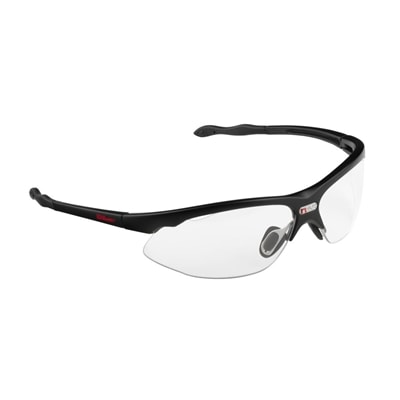 NVUE Protective Eyewear by Wilson, green frames with adjustable sidearms