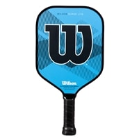 Wilson Surge Lite Paddle, vibrant blue and black design. Made in the USA