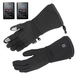 Touchscreen Cordless Heated Glove Liners - SMALL / MEDIUM