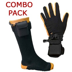ActiVHeat Battery Heated Glove & Sock Liners - Wrist & Ankle Mounting Packs