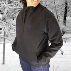 ActiVHeat Women's Heated Insulated Convertible Soft-Shell Jacket