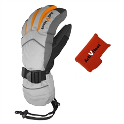 ActiVHeat WX4 Weightless Rechargeable Battery Heated Crossover Women's Glove Bundle