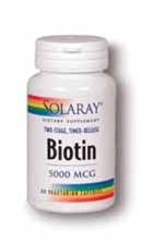 biotin 5000 mcg lozenges from solaray