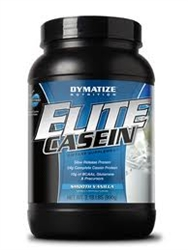 elite casein from dymatize