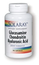 glucosamine chondroitin hyaluronic acid joint support formula from solaray