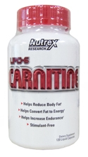 lipo-6 carnitine fat burner and energy enhancer from nutrex