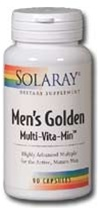 men's golden multi-vitamin from solaray