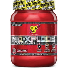 no-xplode nitric oxide pre-workout formula from bsn