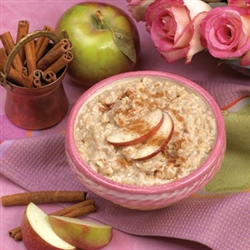 apple 'n cinnamon oatmeal from balanced protein diet