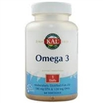 omega 3 lemon fish oil 120 softgels from kal