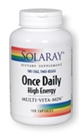 once daily high energy multi-vitamin from solaray