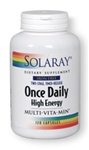 once daily iron free multi-vitamin from solaray