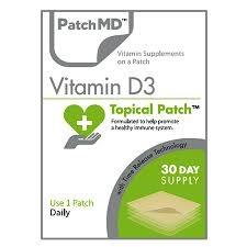vitamin d3 topical patch from patchmd