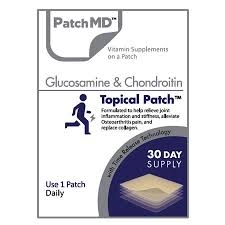 glucosamine & chondroitin topical patch from patchmd