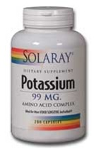 potassium 99 mg from solaray