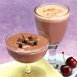 pudding and shakes from balanced protein diet