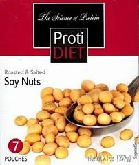 roasted and salted soy nuts from protidiet