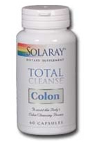 total cleanse colon from solaray