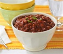turkey chili with beans from healthy diet