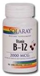 vitamin b-12 sublingual lozenges from solaray