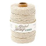 Global Hemp Natural 100# Test Waxed Hemp Twine