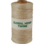Global Hemp Natural 10# Test Waxed Hemp Twine
