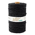 Global Hemp Black 170# Test Waxed Hemp Twine