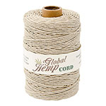 Global Hemp Natural 48# Test Waxed Hemp Twine