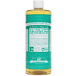 Dr. Bronner's Almond Liquid Hemp Soap