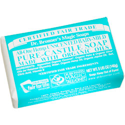 Dr. Bronner's Baby-Mild Hemp Bar Soap