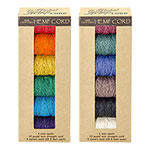 Global Hemp Assorted 20# Test Polished Hemp Cord - 1 mm