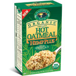 Nature's Path Hemp Plus Instant Hot Organic Oatmeal