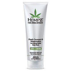 Hempz Fresh Coconut & Watermelon Body Wash - 8.5 fl oz