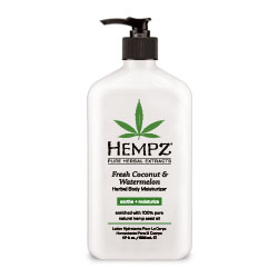 Hempz Fresh Coconut & Watermelon Herbal Body Moisturizer - 17 oz