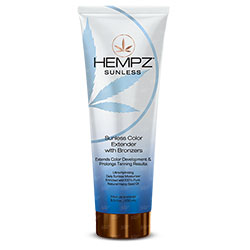 Hempz Sunless Color Extending with Bronzers - 8.5 oz