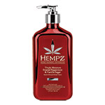 Hempz Triple Moisturizer White Peppermint & Vanilla Herbal Whipped Body Creme - 17 oz