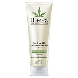 Hempz Sensitive Skin Calming Herbal Body Wash - 8.5 fl oz