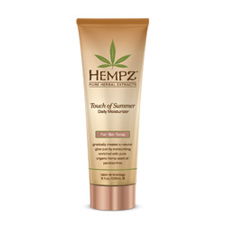 Hempz Touch of Summer Daily Moisturizer for Fair Skin Tones - 8oz