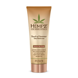 Hempz Touch of Summer Daily Moisturizer for Medium Skin Tones - 8oz