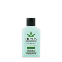 Hempz Triple Moisture Herbal Whipped Body Creme - Purse / Travel Size