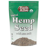 Hempzels Sea Salt Toasted Organic Hemp Seed