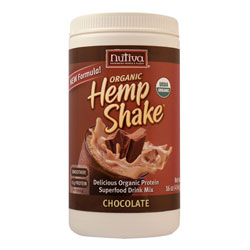Nutiva Organic Chocolate Hemp Shake - 16 oz