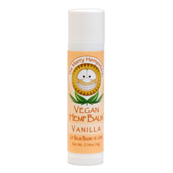 The Merry Hempsters Vanilla Vegan Hemp Lip Balm