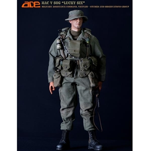 "Boxed Figure: ACE US Vietnam ERA MAC V SOG ""Lucky Six"" (ACEVSOG)"